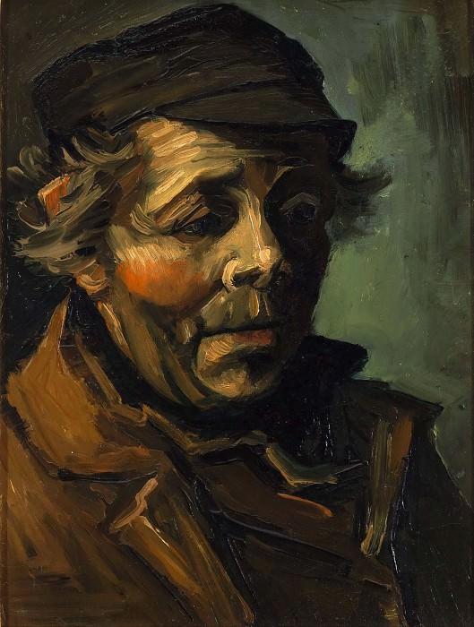 Head of a Peasant with Cap. Vincent van Gogh