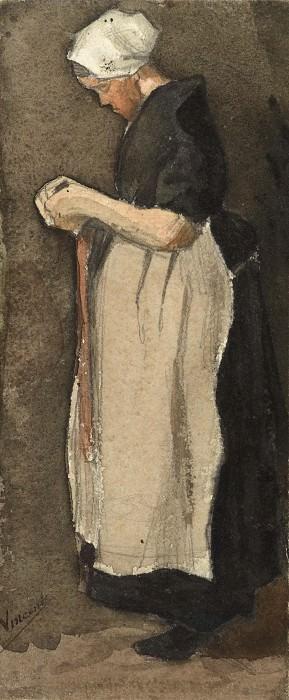 Женщина из Схевенингена. Винсент Ван Гог