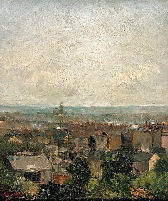 View of Paris from Montmartre. Vincent van Gogh