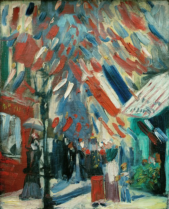 The Fourteenth of July Celebration in Paris. Vincent van Gogh