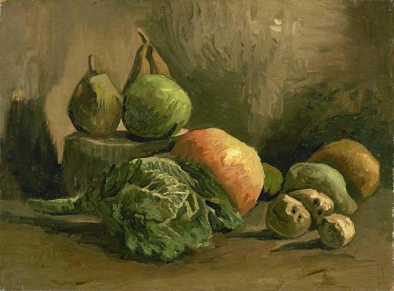 Натюрморт с овощами и фруктами. Винсент Ван Гог