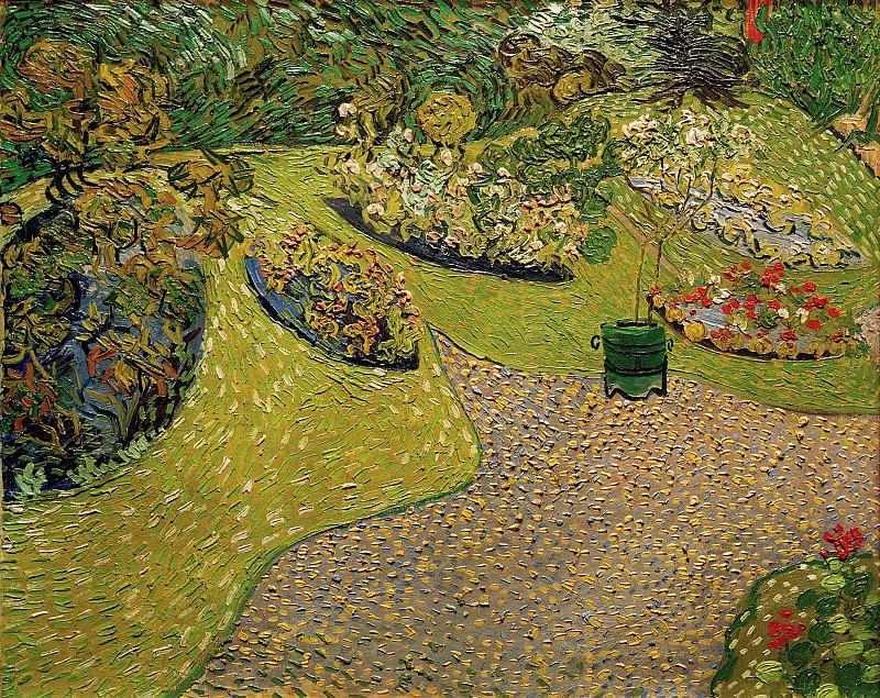 Garden in Auvers. Vincent van Gogh
