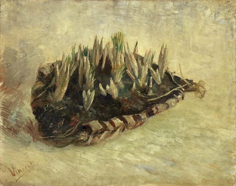 Basket of Crocuses. Vincent van Gogh