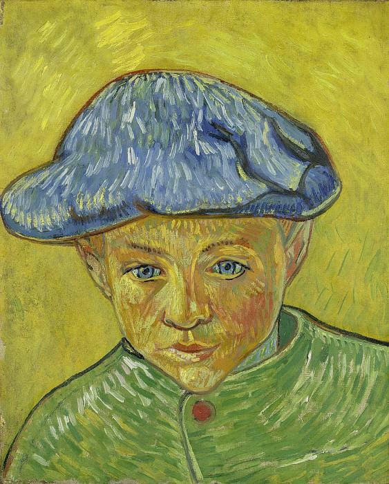 Portrait of Camille Roulin. Vincent van Gogh