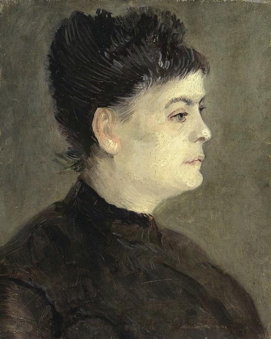 Portrait of Agostina Segatori. Vincent van Gogh
