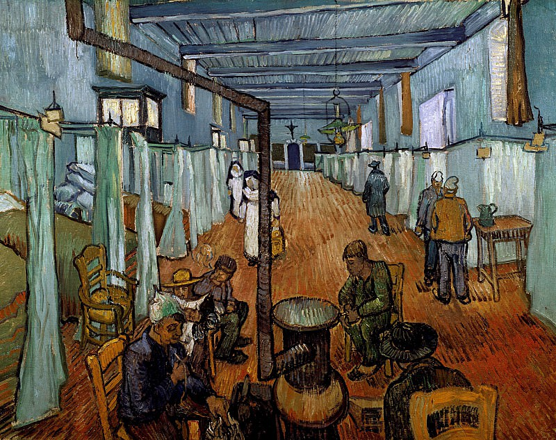 Ward in the Hospital in Arles. Vincent van Gogh