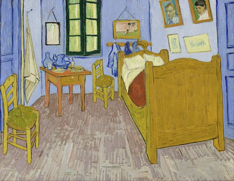 Vincent s Bedroom in Arles. Vincent van Gogh