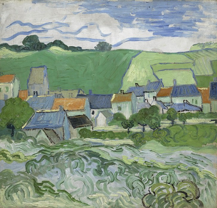 View of Auvers. Vincent van Gogh