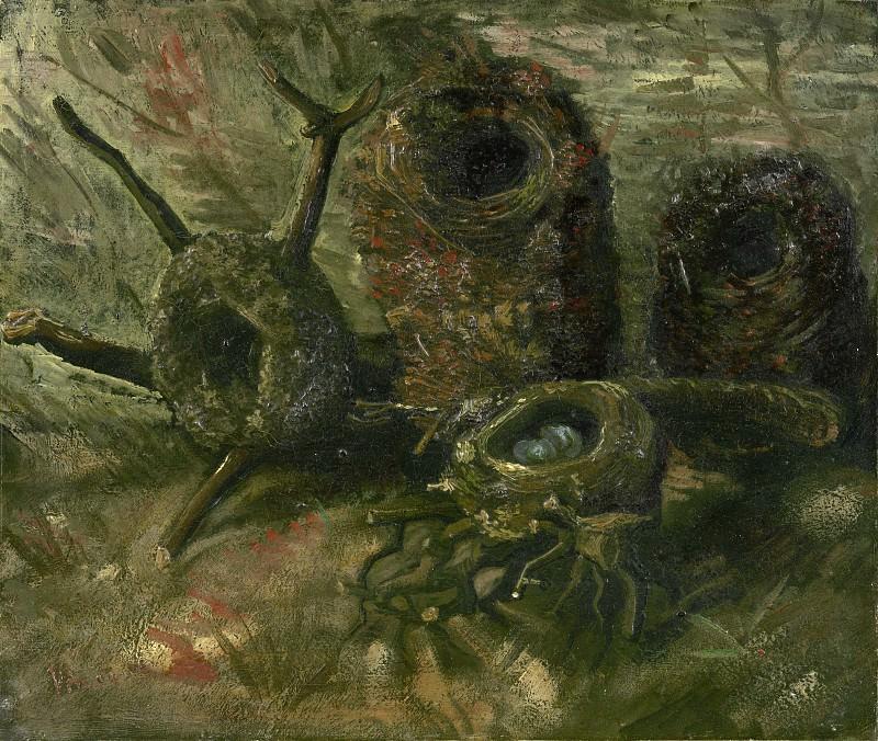 Birds Nests. Vincent van Gogh