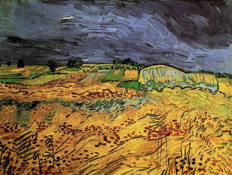 The Fields. Vincent van Gogh