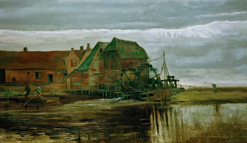Watermill at Gennep. Vincent van Gogh