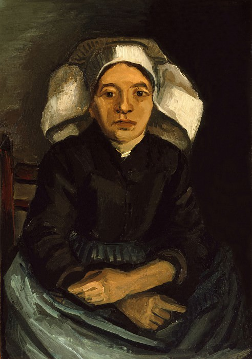 Seated Peasant Woman. Vincent van Gogh