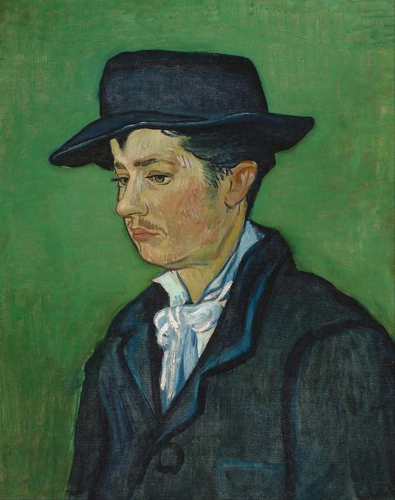 Portrait of Armand Roulin. Vincent van Gogh
