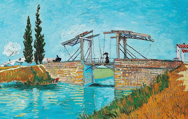 The Langlois Bridge at Arles. Vincent van Gogh