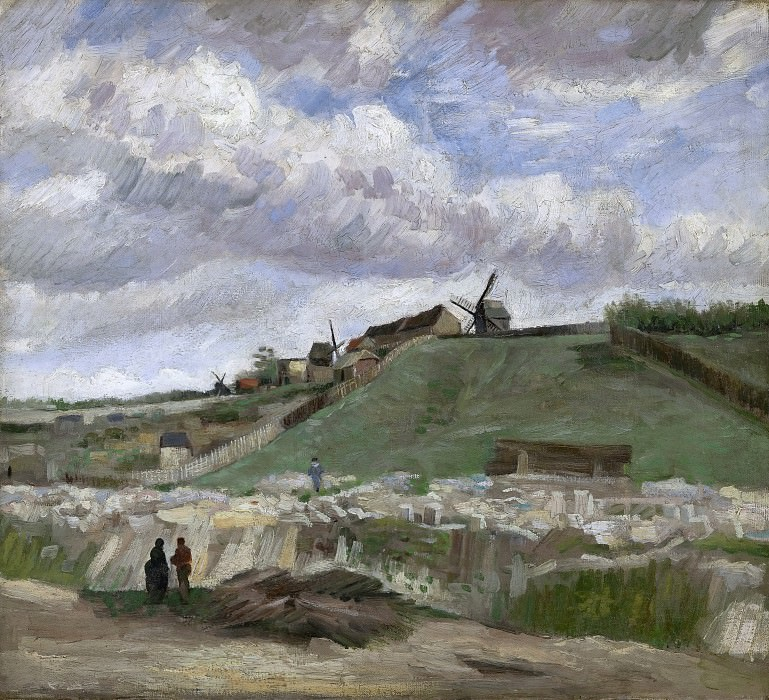 The Hill of Montmartre with Stone Quarry. Vincent van Gogh