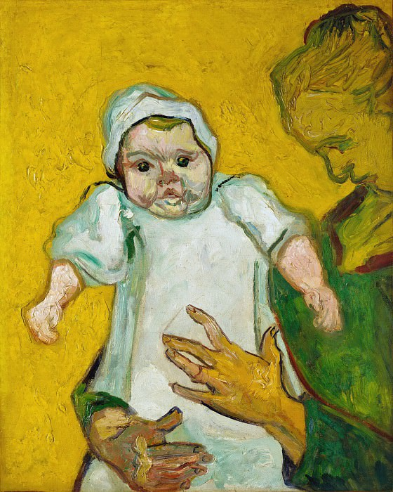 Madame Roulin and Her Baby. Vincent van Gogh