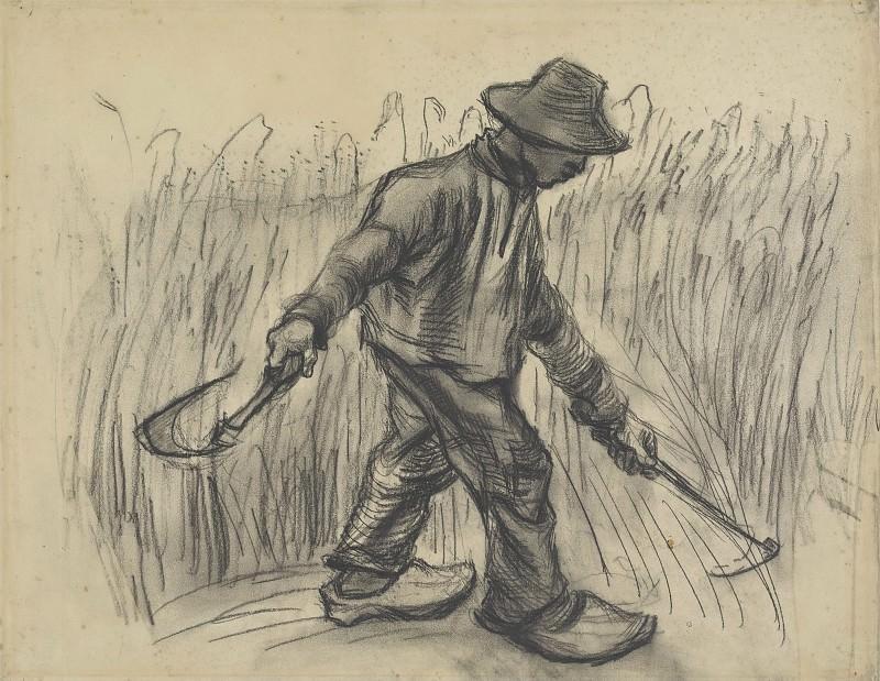 Reaper. Vincent van Gogh