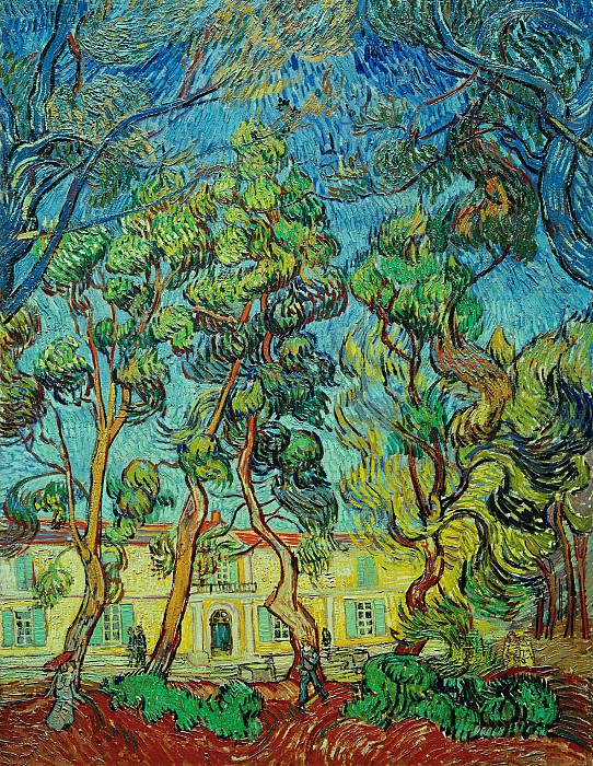 The Grounds of the Asylum. Vincent van Gogh