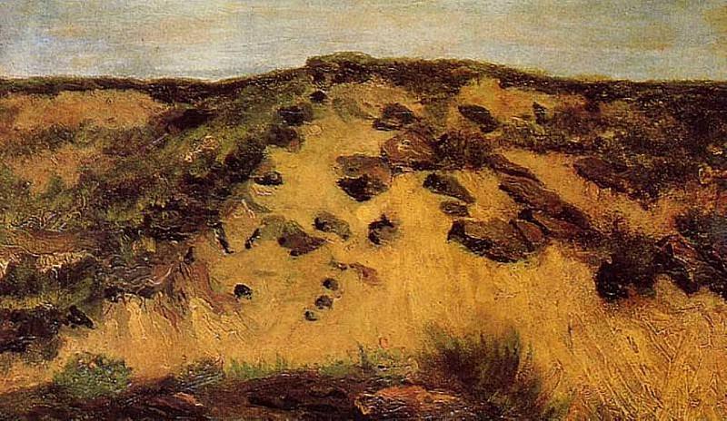 Dunes. Vincent van Gogh