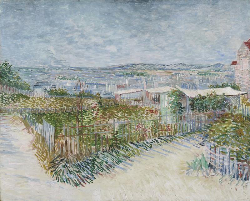 Огороды на Монмартре. Винсент Ван Гог