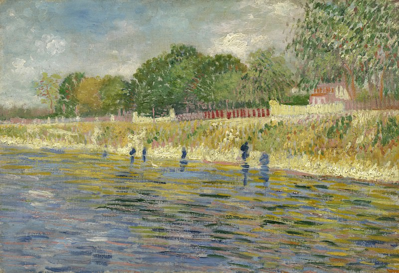 The Banks of the Seine. Vincent van Gogh