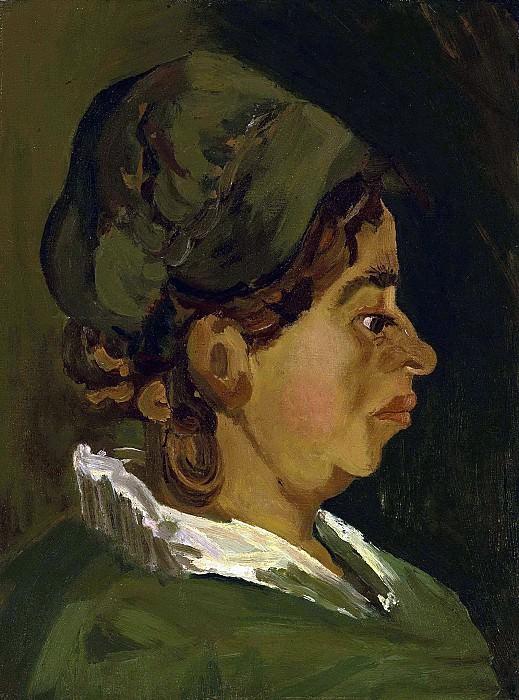 Head of a Peasant Woman. Vincent van Gogh