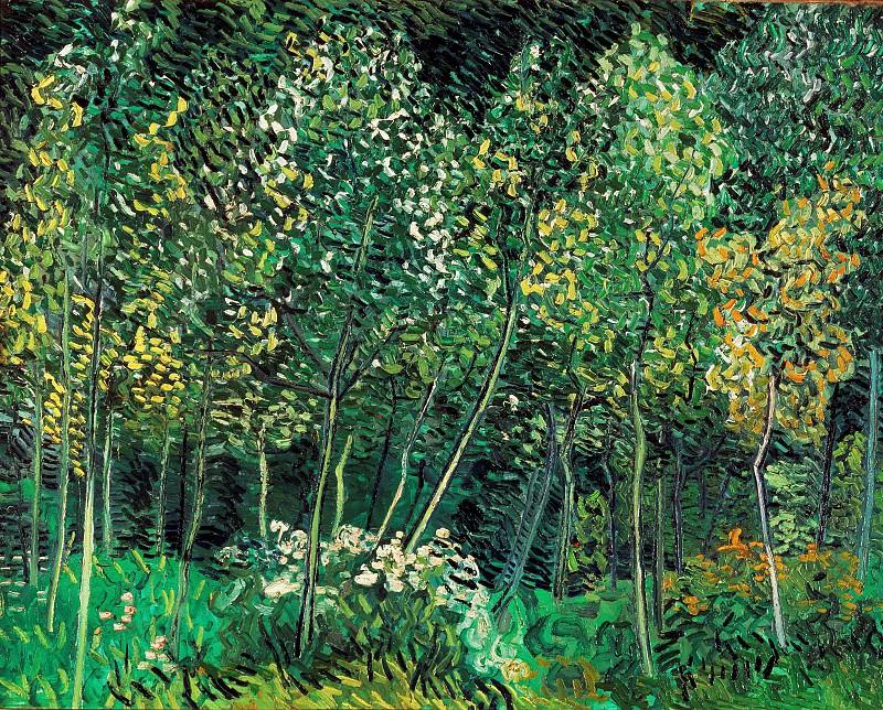 The Grove. Vincent van Gogh