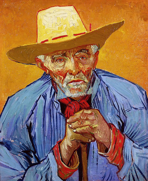 Portrait of Patience Escalier. Vincent van Gogh
