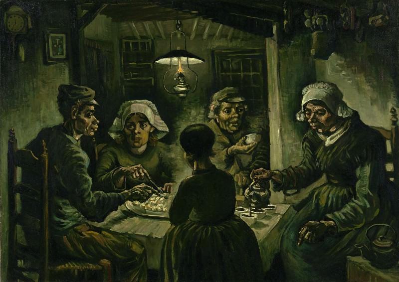 Potato eaters. Vincent van Gogh