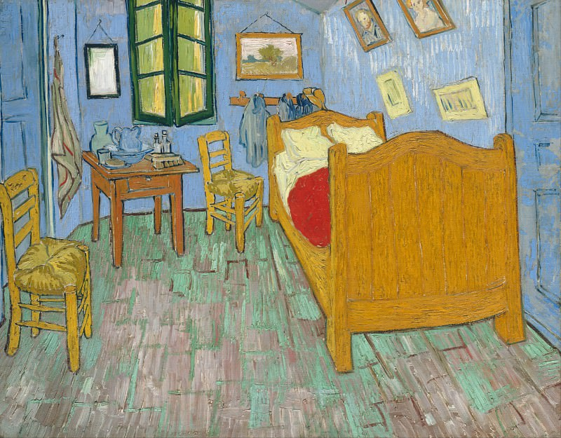 The Bedroom. Vincent van Gogh
