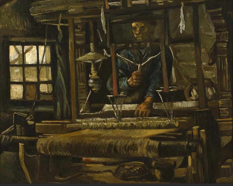 Дом ткача. Винсент Ван Гог