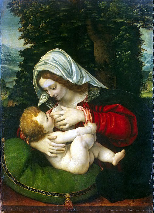 Madonna and Child. Hermitage ~ Part 05