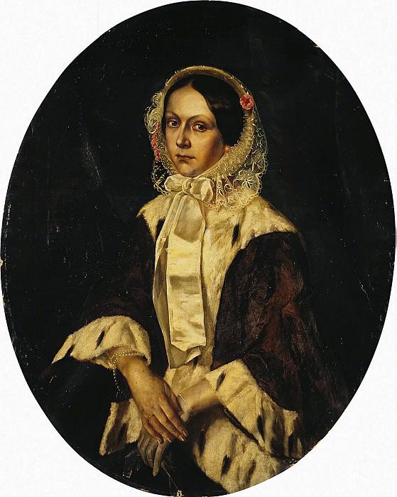 Portrait of Baroness Meller Zakomalskoy. Hermitage ~ Part 05