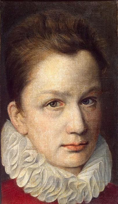 Dyumuste, Pierre the Elder - Portrait of a young man. Hermitage ~ Part 05