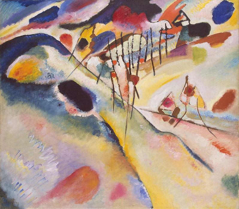 Kandinsky, Vladimir - Landscape. Hermitage ~ Part 05