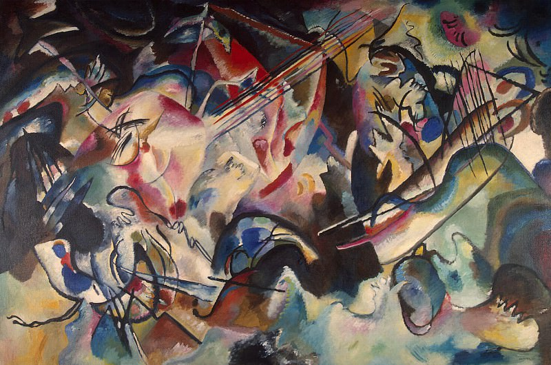 Kandinsky, Vladimir - Composition VI. Hermitage ~ Part 05