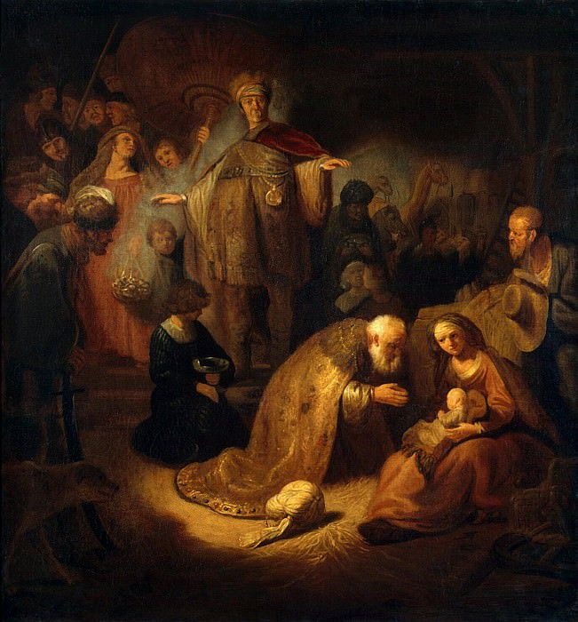 Adoration of the Magi (2). Hermitage ~ Part 05