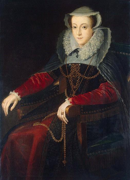 Portrait of Mary Stuart. Hermitage ~ Part 05