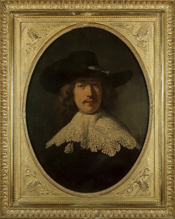 Portrait of a young man with lace collar. Hermitage ~ Part 05