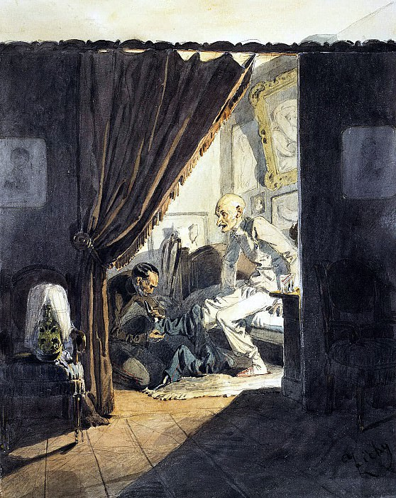 Zichy, Mihaly - General bedtime.. Hermitage ~ Part 05