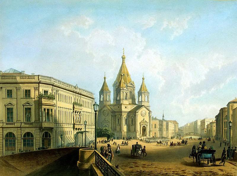 Zhakotte, Louis Julien Bachelier, Charles Klodt - Type Annunciation Square. Hermitage ~ Part 05