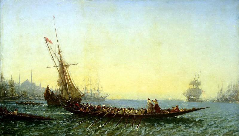 Zim, Felix Francois Georges Philibert - Harbour at Constantinople. Hermitage ~ Part 05