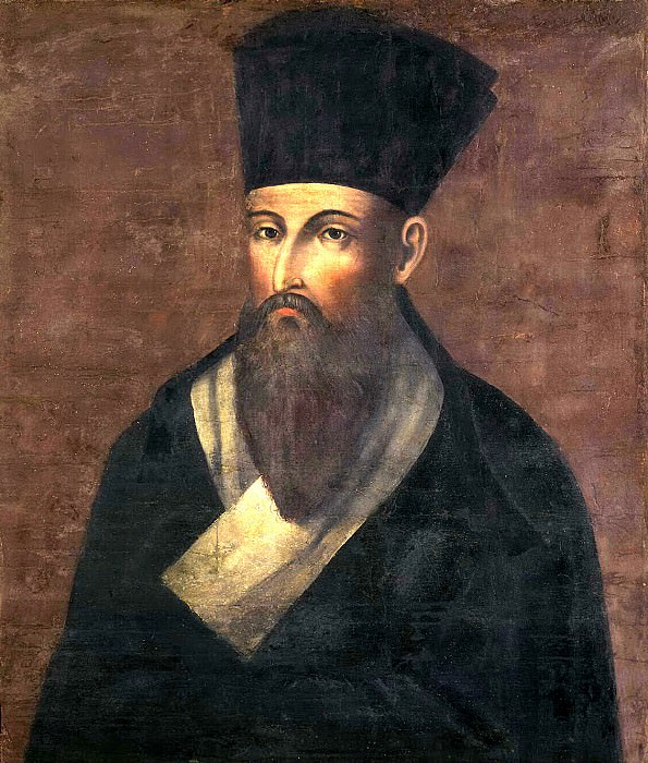 Portrait of a missionary Matteo Ricci. Hermitage ~ Part 05