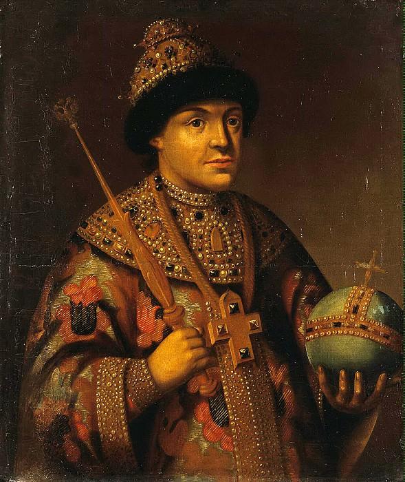 Portrait of Fyodor Alekseevich Romanov. Hermitage ~ Part 05
