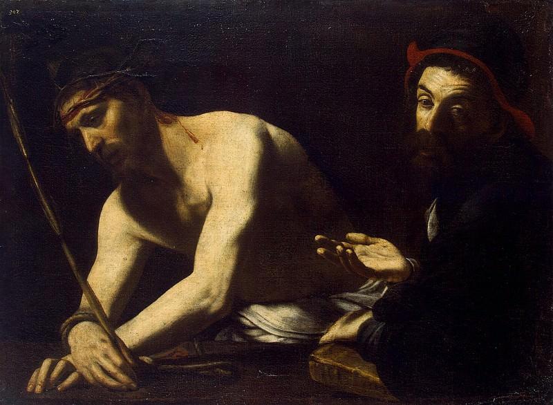 Caracciolo, Giovanni Battista - Christ and Kayafa. Hermitage ~ Part 05