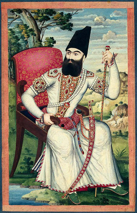 Portrait of Abbas Mirza. Hermitage ~ Part 05