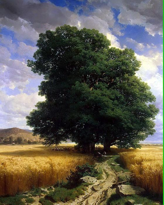 Kalam, Alexander - Landscape with oak. Hermitage ~ Part 05