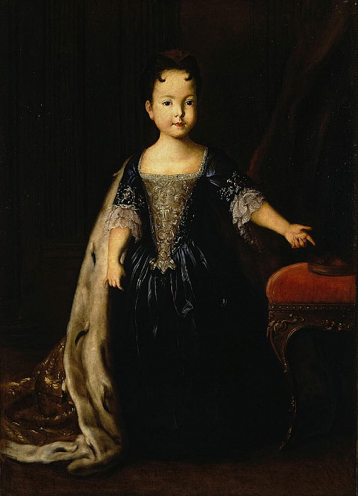 Portrait of Natalia Petrovna, the daughter of Peter I and Catherine I. Hermitage ~ Part 05