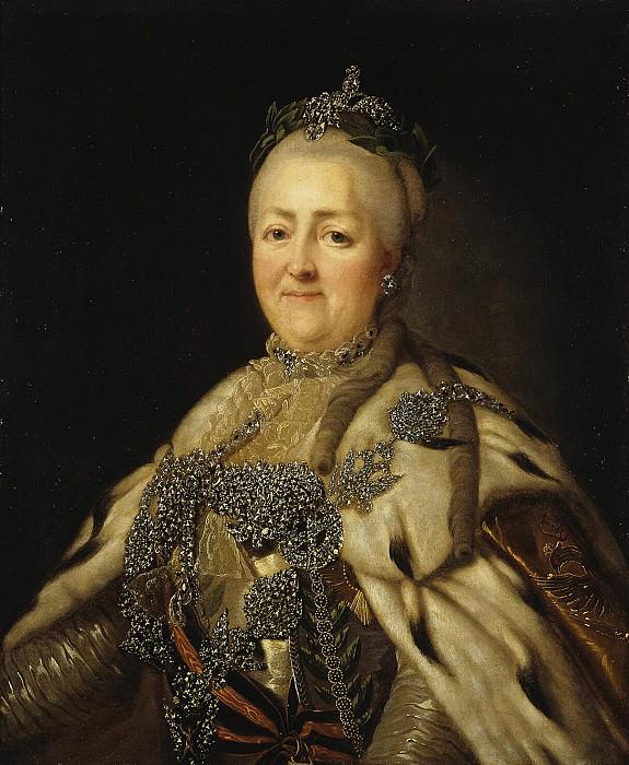 Portrait of Empress Catherine II. Hermitage ~ Part 05