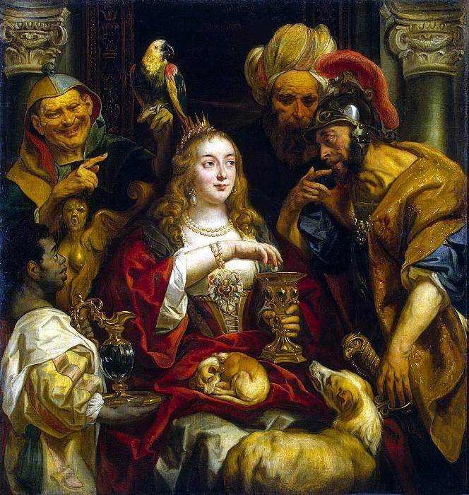 Jordaens, Jacob - Cleopatras Feast. Hermitage ~ Part 05